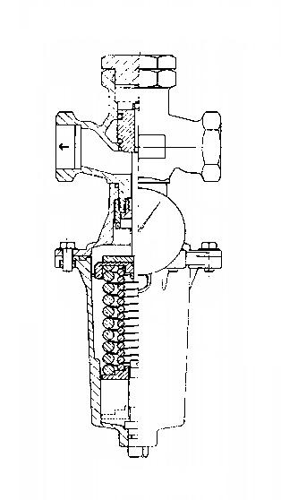 регулятор давления после себя RD 102 V