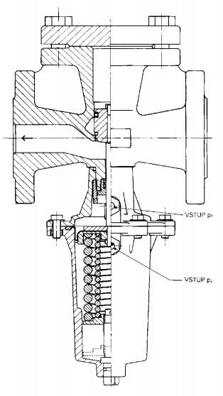 регулятор давления после себя RD 103 V