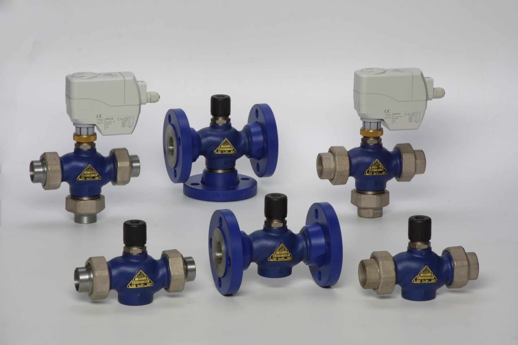 линейный регулирующий клапан RV111