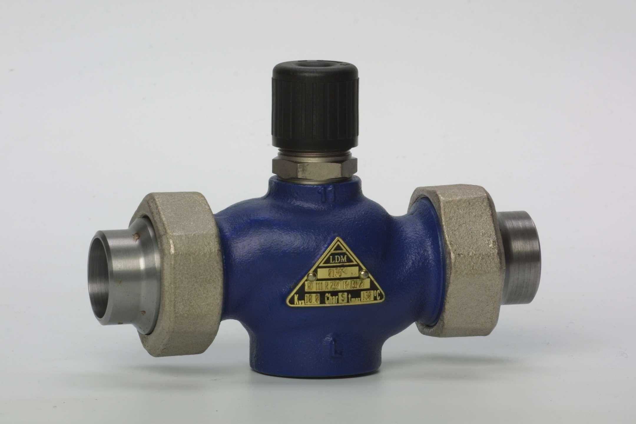 двухходовой регулирующий клапан