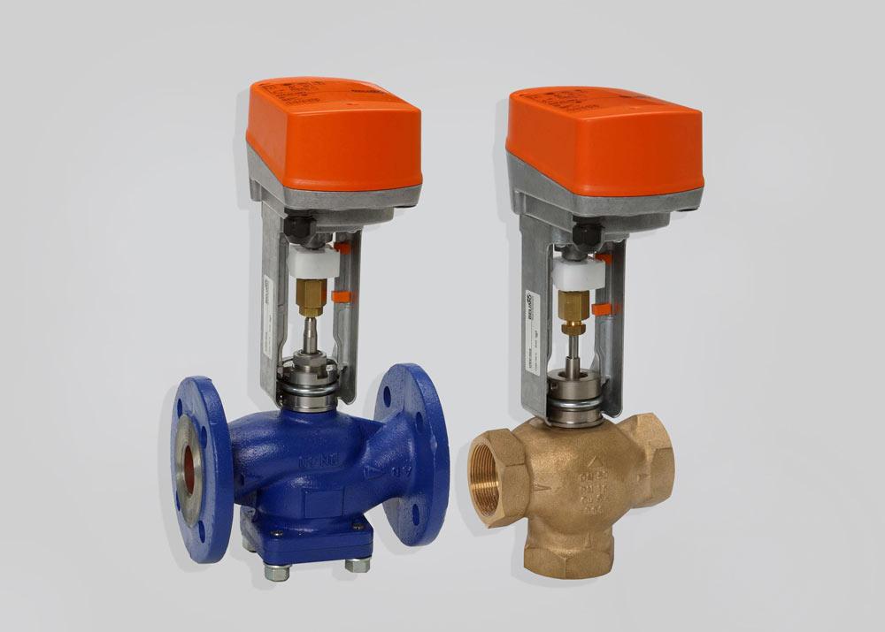 запорно регулирующий клапан отопления