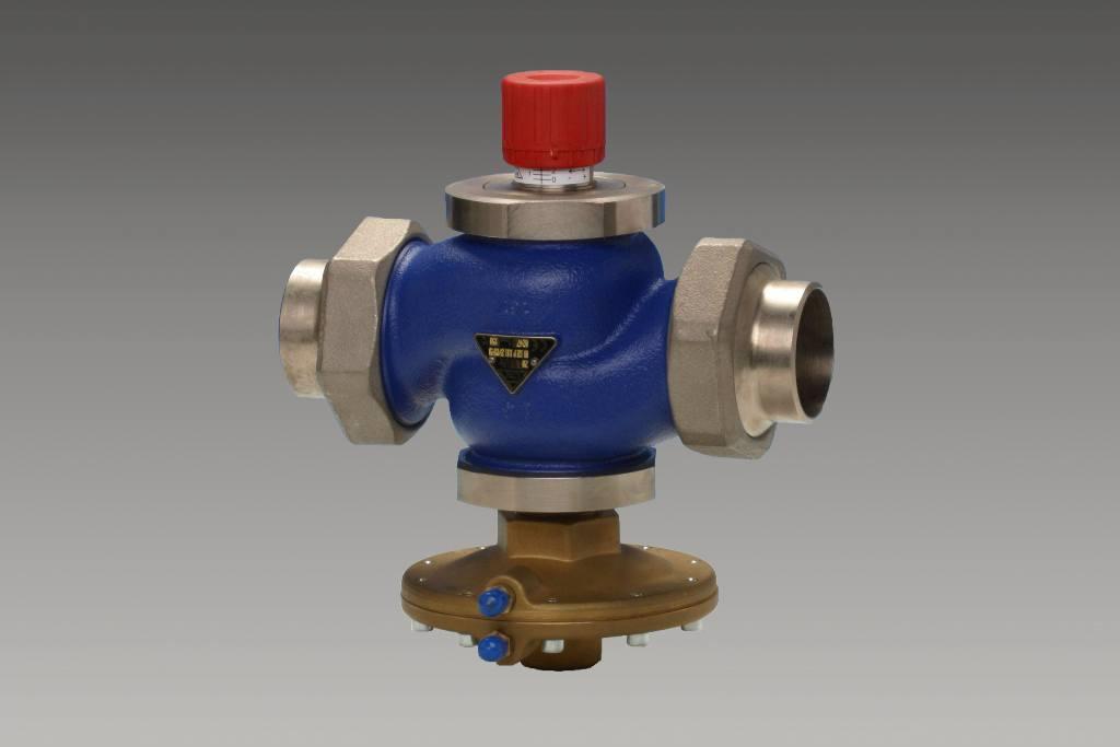 регулятор давления с ограничителем расхода RD122P