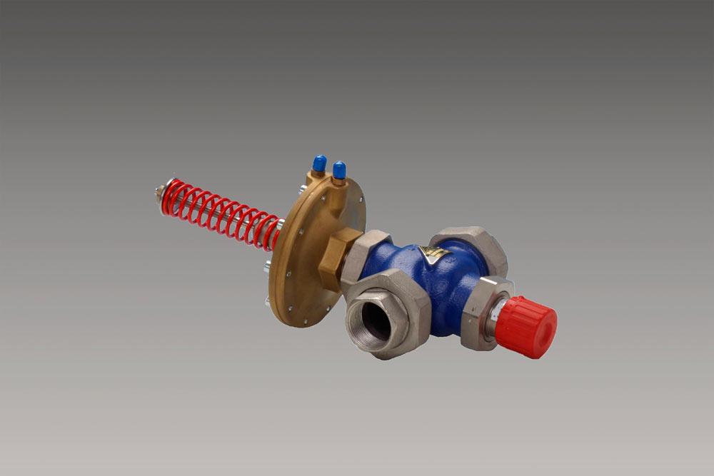 регулятор перепада давления с ограничителем расхода RD122P